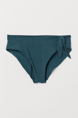 H&M Bikini Bottoms with Tie - Turquoise