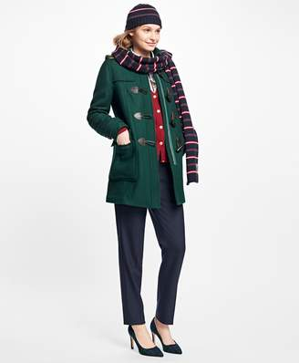 Brooks Brothers Wool Double-Faced Toggle Coat