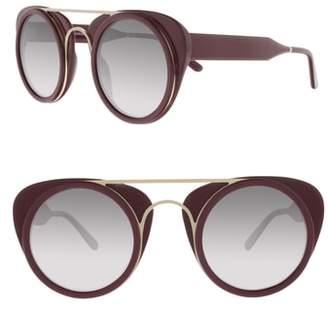 SMOKE X MIRRORS Soda Pop 3 47mm Round Sunglasses