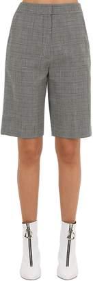 Cotton Shorts W/ Lace-Up Detail