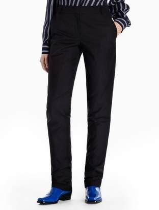 Calvin Klein skinny fit wool mohair pants
