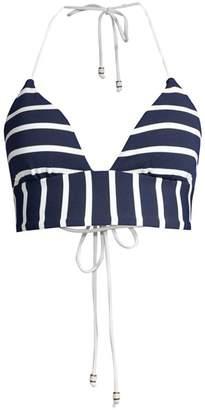 Shoshanna Striped Bikini Top