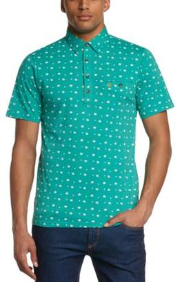 Farah Men's Freddie Plain Polo Short Sleeve Shirt