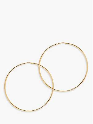 The Hoop Station La Chica Latina Large Hoop Earrings