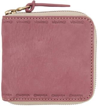 Visvim Pink Veggie Bifold Wallet
