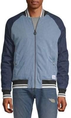 Calvin Klein Jeans Logo Baseball Jacket