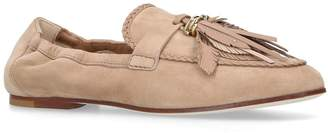 Tod's Braided Leather Mocassins