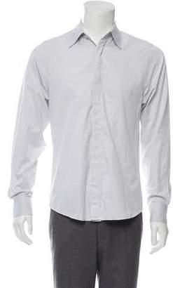 Alexander McQueen Textured Button-Up Shirt