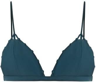 JADE SWIM Chain Reaction triangle bikini top