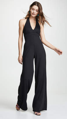 4061e687d302 Susana Monaco Gathered Front Jumpsuit