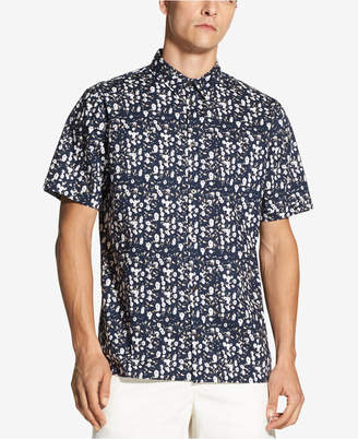 DKNY Men's Floral-Print Shirt, Created for Macy's