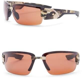 Costa del Mar Rockport 69mm Rimless Polarized Sunglasses
