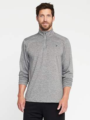 Old Navy Go-Dry 1/4-Zip Built-In Flex Pullover for Men