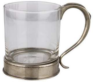 Ralph Lauren Pewter and Glass Mug w/ Tags