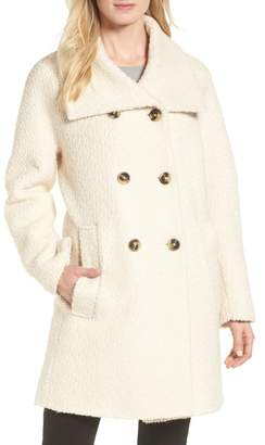 London Fog Cozy Wool Blend Coat