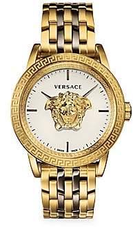 Versace Palazzo Empire IP Yellow Goldtone Bracelet Watch