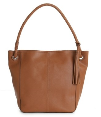 Cole Haan Tassel Leather Hobo Bag