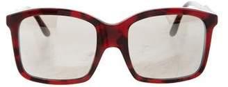 Stella McCartney Mirrored Logo Sunglasses