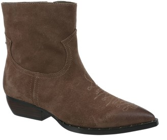Sam Edelman Ava Suede & Leather Booties
