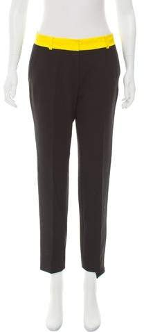 Kate Spade New York Two-Tone Mid-Rise Pants