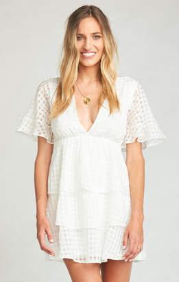 Show Me Your Mumu Dulce Dress ~ Charmed and Checkered Ivory