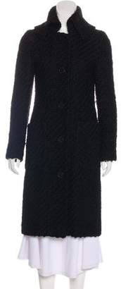 Cacharel Wool Textured Coat