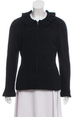 Chanel Collared Tweed Jacket