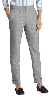 Ralph Lauren Glen Plaid Straight Pants