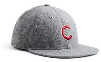 Todd Snyder + New Era Exclusive Chicago Cubs Hat In Italian Barberis Grey Wool Flannel