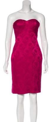 L'Wren Scott Brocade Strapless Dress w/ Tags