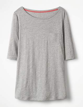 Boden The Cotton Boat Neck Tee