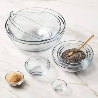 west elm Anchor Hocking 10-Piece Glass Mixing Bowl Set