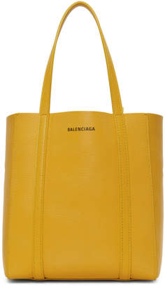 Balenciaga Yellow XXS Everyday Tote