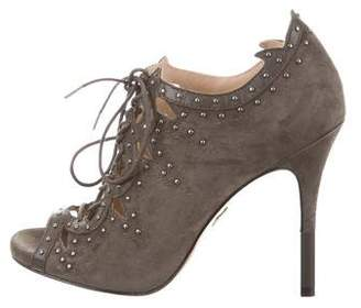 Pour La Victoire Vara Studded Booties w/ Tags