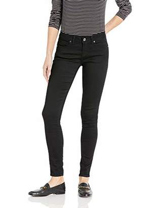 V.I.P. JEANS Women's Five Pocket Skinny Butt Shaping Slim Fit Stretch Ankle