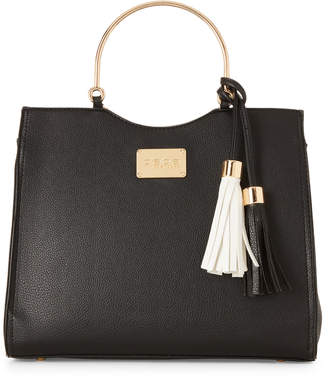Bebe Zsa Zsa Ring Handle Satchel