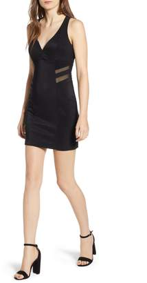 Love, Nickie Lew Lattice Back Body-Con Dress