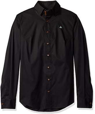 Vivienne Westwood Men's Stretch Poplin Krall Shirt