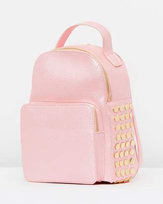 Missguided Mini Side Beaded Backpack