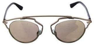 Christian Dior So Real Mirorred Sunglasses
