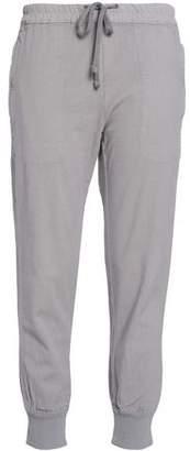 James Perse Cotton-Blend Track Pants