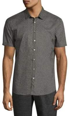 John Varvatos Slim-Fit Cotton Button-Down Shirt
