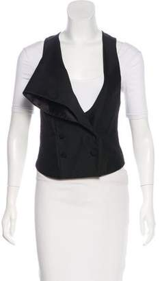 Alexander Wang Wool Double-Breasted Vest