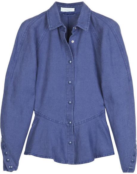 Emilio Pucci Unito linen-blend jacket