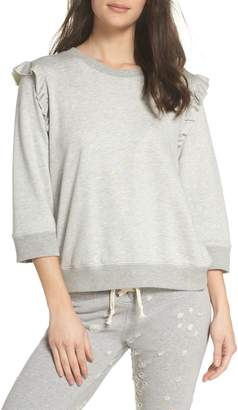 David Lerner Ruffle Sweatshirt