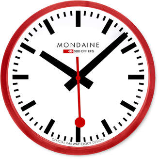 Mondaine (モンディーン) - MONDAINE(モンディーン) スイス レイルウェイ クロック レッド400mm