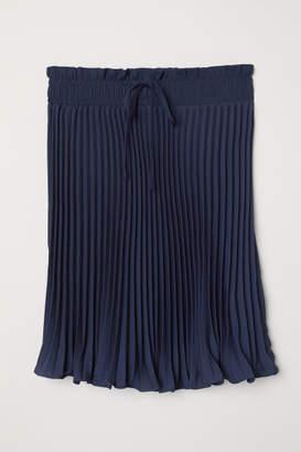 H&M Pleated Skirt - Blue