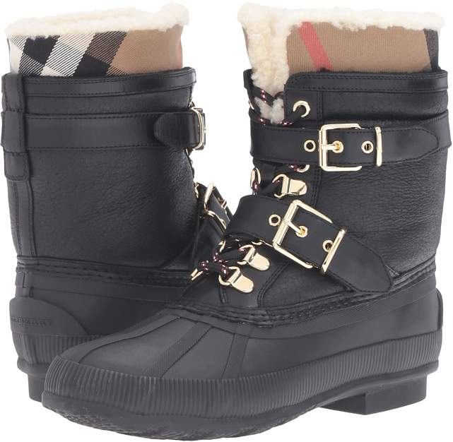 Burberry - Windmere Women's Lace-up Boots