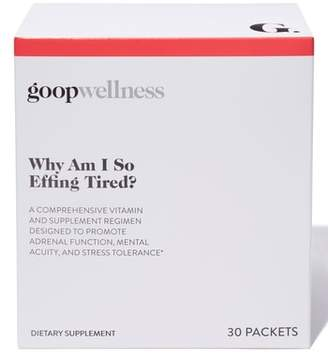 Goop Why Am I So Effing Tired Dietary Supplements