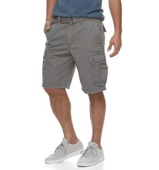 Men's Urban Pipeline Belted Twill Cargo Shorts